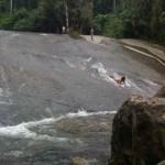 Water slide near Penha