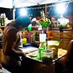A barman in Lapa