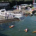 Swimming in Seine river