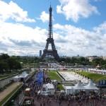 Finish area under Eiffel