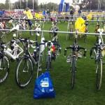 Še zadnje priprave kolesa